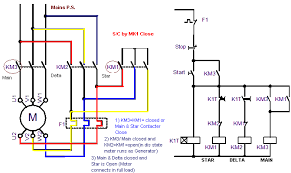 star delta connection diagram and working principle docx Wye Delta Connection Diagram this type of operation is called open transition switching because there is an open state between the star state and the delta state delta to wye connection diagram
