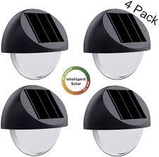 Westinghouse Solar Security Light 4 Pk Westinghouse Intelligent Solar Deck Lights Waterproof Solar Step Lights All Year