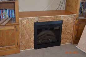 ana white entertainment center fireplace diy projects electric freestanding natural gas heaters mantels indoor inch cove