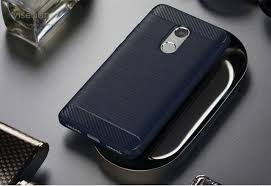 <b>hacrin Xiaomi Redmi</b> Note 4X <b>Case</b> Soft Carbon Style Protective ...