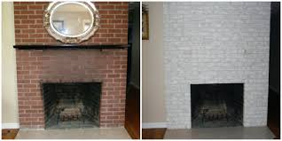 painting red brick fireplaces black paint was perfect for this old outdated fireplace makeover