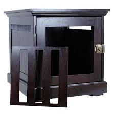 furniture denhaus wood dog crates. Unique Furniture DenHaus Townhaus Dog Crate In Espresso And Furniture Denhaus Wood Dog Crates