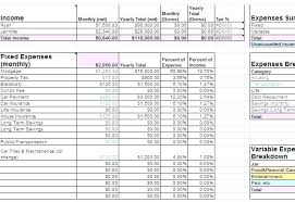 Expense Spreadsheet Template Excel Monthly Expense Spreadsheet Template Excel Sample Budgeting