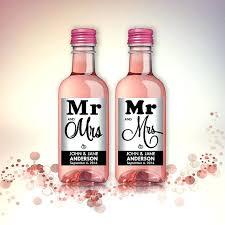 Mini Wine Bottle Labels Templates Art Exhibition Wedding Party Favor ...