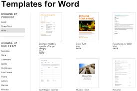 Microsoft Office Tamplates Over 250 Free Microsoft Office Templates Documents