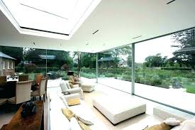 modern sliding glass doors walls residential cost wall flat roof design exterior moving systems system medium