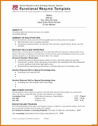 Examples Of Functional Resume Mailroom Clerk Cover Let Experience