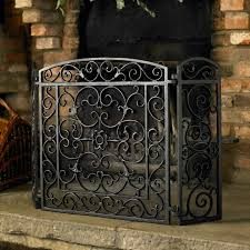 best of iron fireplace screens with modern decorative fireplace screen for the classic fireplace the