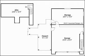 garage door floor plan 12