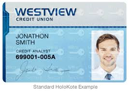 Id With - Features Printers Card Special Holokote