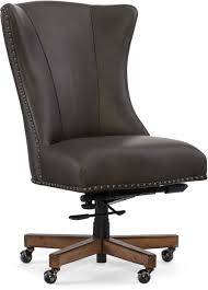 brown leather office chair. Brown Desk Chair New Hooker Furniture Lynn Home Office Ec483 079 Brown Leather Office Chair
