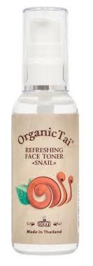 Organic TAI <b>Тонер освежающий</b> с <b>экстрактом</b> улитки Snail ...