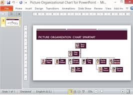 Org Chart Powerpoint Slide Picture Organizational Chart Template For Powerpoint