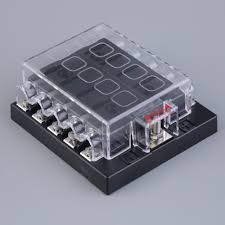 popular car fuse box buy cheap car fuse box lots from car 2016 new 10 way circuit car fuse box holder circuit car atc ato blade fuse box