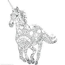 Printable Unicorn Cut Out The Unicorn Printable Unicorn Coloring