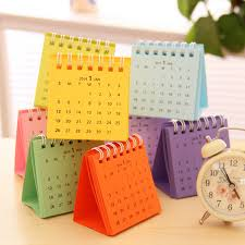 compra desk calendar 2016 al por mayor de china mayoristas small desk calendar