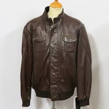 mens 61114 a1 grade soft brown pictured or black nappa leather sizes small