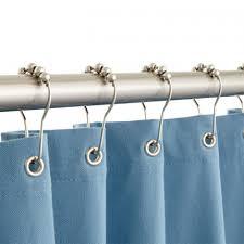 roller ball shower curtain rings