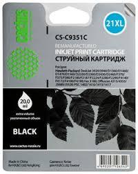 Струйный картридж Cactus CS-C9351C (HP ... - CACTUS-TRADE