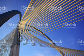 architecture pictures. modern bridge architecture at putrajaya stock photo pictures