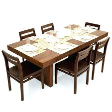 oak dining table and chairs dining room table for 6 6 dining table set 1 used