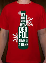 Christmas Beer T Shirt Design Idea And Template Customize