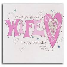 Happy Birthday to the most wonderful,beautiful wife a man can ever ... via Relatably.com