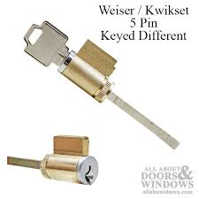 american cylinder 5 pin weiser tumbler lock for sliding glass door keyed diffe