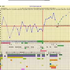 Sample Bbt Chart Showing Ovulation Bfp Chart Trying To Conceive Forums What To Expect