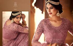Heavy Designer Suits Wholesale Mohini Glamour Vol 60 60001 60005 Series Heavy Designer