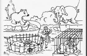 Zoo Animal Coloring Pages Printable Colorine 10367 Zoo Animal