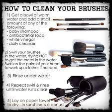 if you re going to use high quality brushes it s important to look after them properly so they last longer and are clean brushes start from