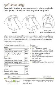 car seat baby car seat cover patterns infant carrier canopy rear facing crochet pattern free
