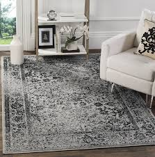 4 x 10 rug inspirational safavieh adirondack collection adr109b grey and black of 10 elegant