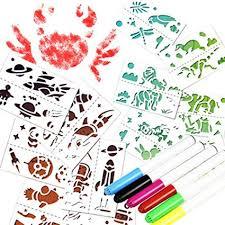 Amazon Com Fiaya Kids Air Spray Blow Pens Markers Coloured