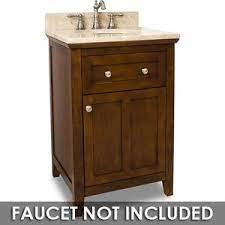 Small Bathroom Vanities Vanity 24 X 22 X 36 In Chocolate With Brown Tan Top Jeffrey Alexander Van090 24 T