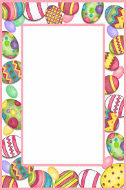 easter stationery easter border paper merry christmas and happy new year 2018