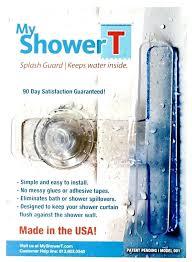 splash guard for showers shower screen