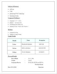 Format For Resume Resume Resume Format Canada 2016 Noxdefense Com