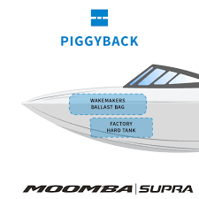 supra and moomba piggyback bow wakeboard wakesurf ballast upgrade