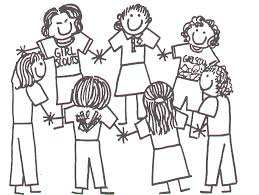 Small Picture Friendship Coloring Page Color Book