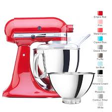 kitchenaid mixer color chart. kitchenaid artisan 2 bowl stand mixer ksm160 kitchenaid color chart