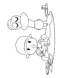 Pocoyo Pato Coloring Pages Jerusalem House