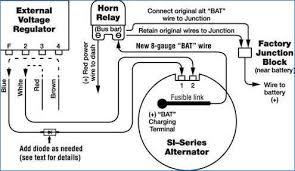 ford alternator wiring diagram external regulator banksbanking info alternator external voltage regulator wiring diagram gallery alternator wiring diagram chevy