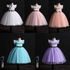2019 <b>Skyyue</b> Flower <b>Girl</b> Dress For Wedding Embroidery Tulle Tank ...