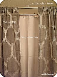 best double shower curtain for simple double shower curtain ideas rods tar silver t throughout