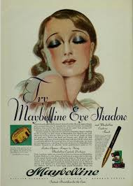 1920s makeup a maybelline advert from 1931