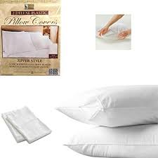 Plastic Pillow Covers With Zipper