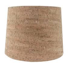 h cork hardback empire lamp shade