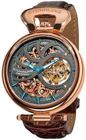 stuhrling original 127c 334xk54 special reserve emperors stuhrling original 127c 334xk54 special reserve emperors mechanical skeleton watch for men accessories